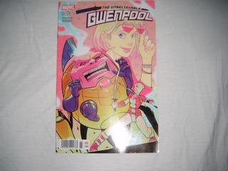 Comic The Unbelievable Gwenpool #4 Marvel