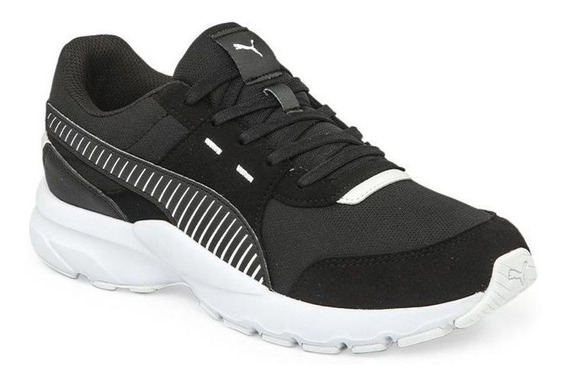 Zapatillas Puma Future Runner Negro/blanco - Corner Deportes