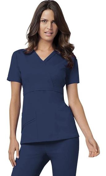 Conjunto Uniforme Médico Quirúrgico Dama Azul Marino Elegant