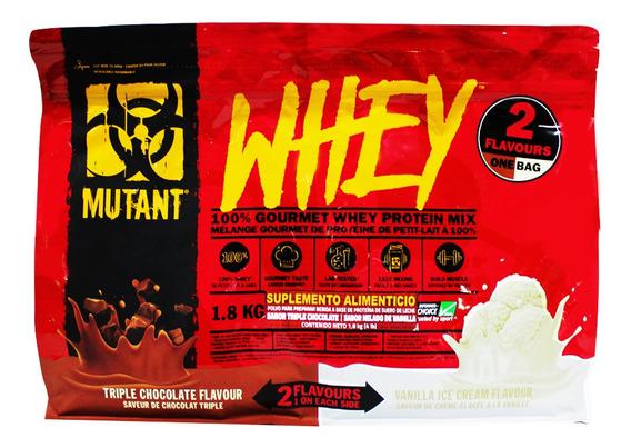 Proteina Mutant Whey Dual 4 Lb (50 Srvs)