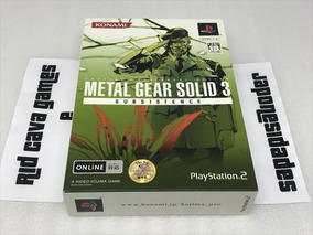 Metal Gear Solid 3 Subsistence Limited Edition Ps2 Semi-novo