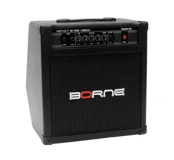 Amplificador Para Baixo Impact Bass Cb100 70w Profissional