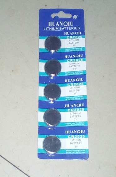 10pilha Bateria Cr2032 Lithium3v Placamae Ou Cr2025 Controle