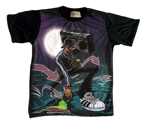Camiseta Camisa Bboy Break Breakin Swag Hip Hop