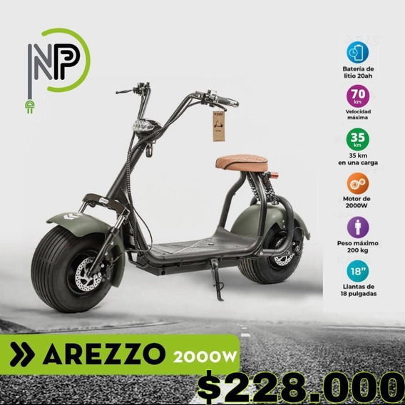 Moto Electrica Kasia City Coco 2000w