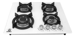 Estufa De Gas De 4 Quemadores Para Empotrar Con Cristal