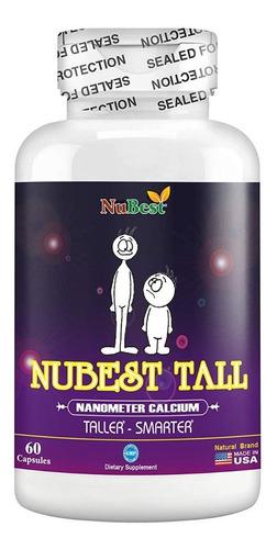 Nubest Tall Vitamina Aumenta Su Estatura Hombres Y Mujeres
