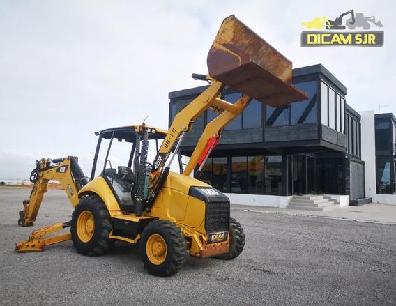 Retroexcavadora 4x4 Caterpillar 420f Año 2012