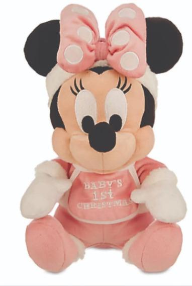 Boneca Pelúcia Minnie Mini Disney Store 23cm