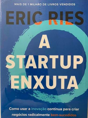 Livro - A Startup Enxuta - Novo