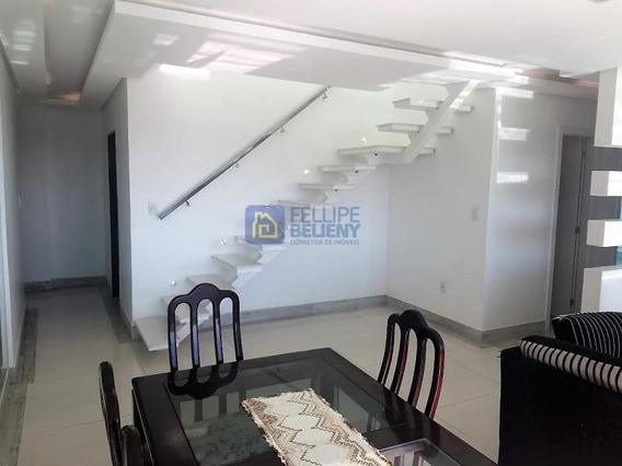 Cobertura Para Venda Em Cabo Frio, Centro, 4 Dormitórios, 4 Suítes, 3 Banheiros, 2 Vagas - Cob077