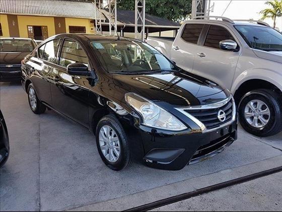 Nissan Versa 1.6 16v Flexstart Sv 4p Xtronic 2019/2020
