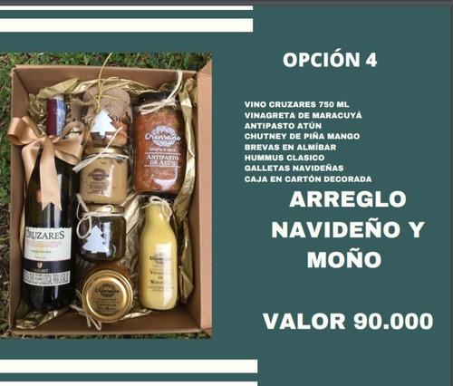 Regalo Anchetas Navideñas - Unidad a $90000