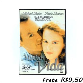 Minha Vida - Dvd Original Filme Keaton C/ Extras - Novíssimo