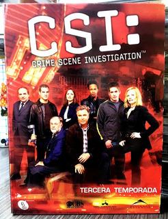 Csi: Tercera Temporada / 6 Dvds (2002)