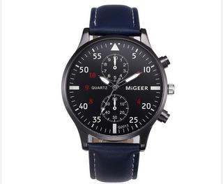 Reloj De Hombre Analogico Migeer Modern Desing