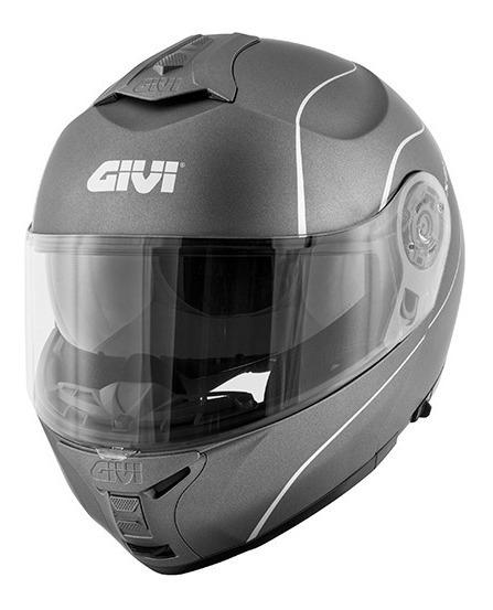 Capacete Givi X21 Graphic Titânio 12x S/ Juros