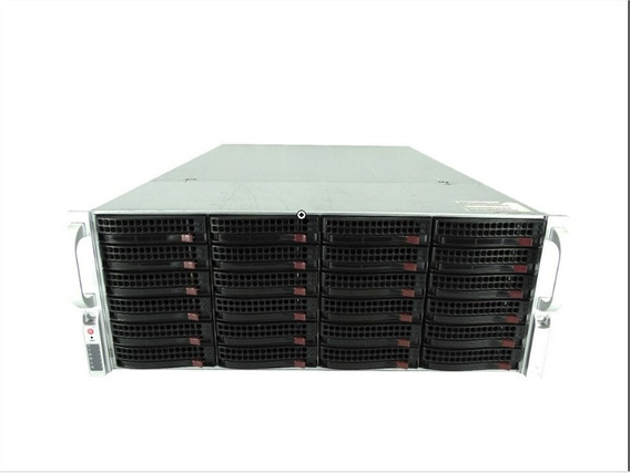 Storage Supermicro Cse-846ba-r900 2x L5420 32gb Ram 24 Baias