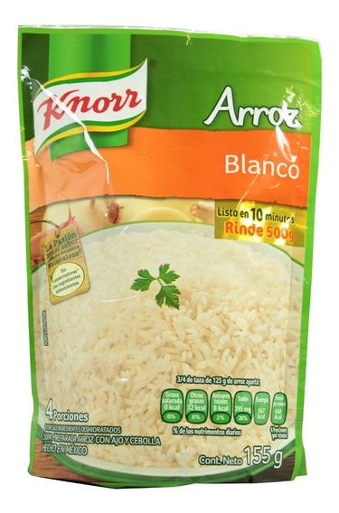 Arroz Blanco Knorr Instantáneo 155 Gr
