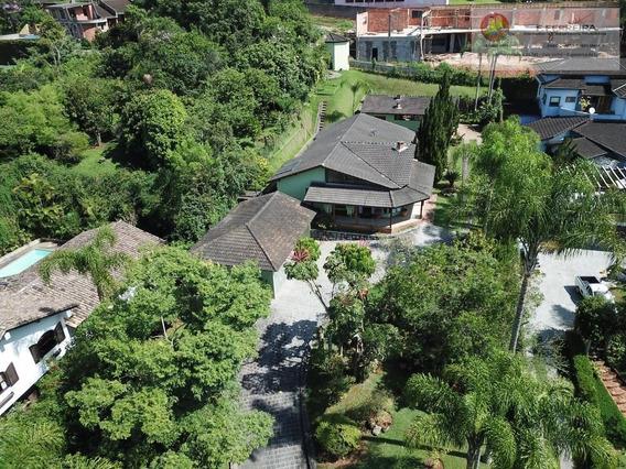Casa Térrea Com 435 M² Em Condominio Fechado Jardim Europa - Itapecerica Da Serra/sp - Ca0230