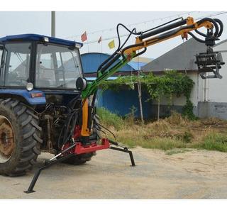 Grua Forestal De 3 Tramos 300kg-4m -maquinasagricolas Cl