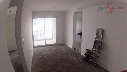 Imagem 1 de 17 de Apartamento Com 1 Dormitório À Venda, 50 M² Por R$ 530.000,00 - Jardim Anália Franco - São Paulo/sp - Ap0954