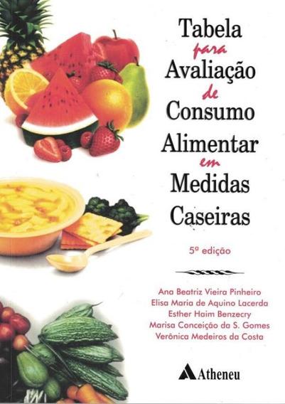 Tabela Para Avaliacao De Consumo Alimentar Em Medidas Case