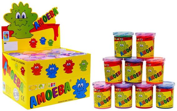 Kit 36 Amoeba Geleinha Massinha Brincar Brinquedos Asca Toys