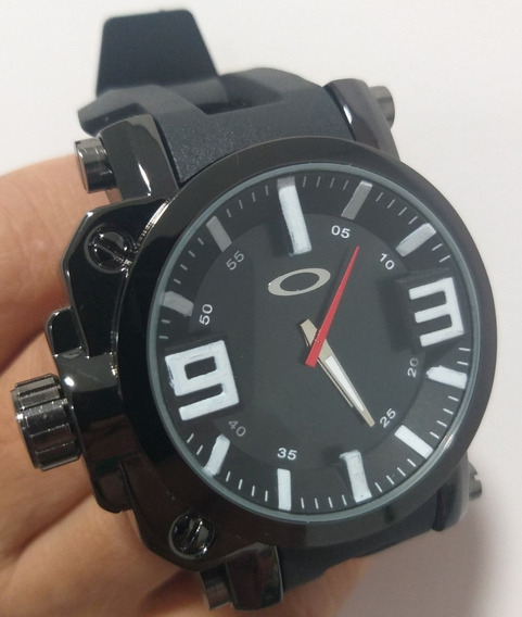 Relógi Analógico Esporte Oakley Á Prova D