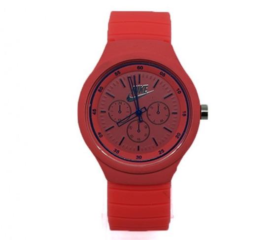 Relógio Feminino Laranja Azul Marinho