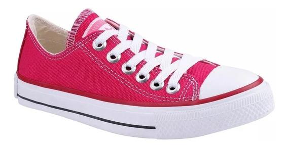 Tênis Converse All Star Cano Baixo Rosa Pink Frete Grátis