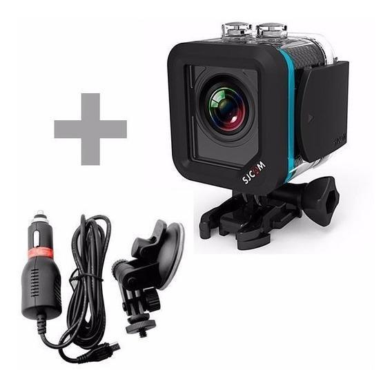 Câmera De Ação Sjcam M10 12mp 1080p Display 1.5+ Carregador