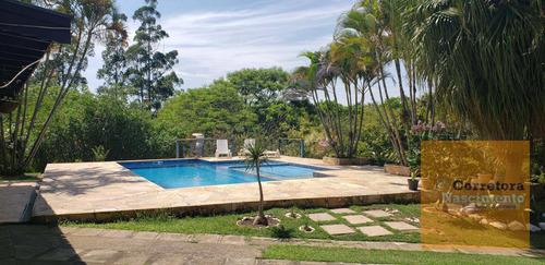 Chácara 5.465m² De Terreno No Condomínio Lagoinha - Ch0064