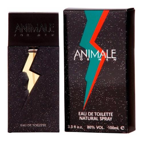 Imagen 1 de 1 de Perfume Caballero Marca Animale Clasico 100 Ml Original Usa