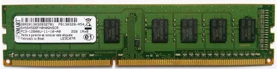Memoria Smart Ddr3 2gb Pc12800 1600 Mhz Desktop Com Garantia