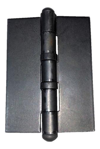 Bisagra Munición 100 X 75 X 2.5 Mm Reforzada Hierro Soldar