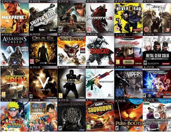 2 Jogos Ps3 À Escolha - Digitais Originais