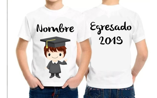 Camiseta Egresados