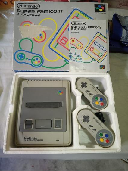 Super Famicom Nintendo Snes Excelente Estado Na Caixa