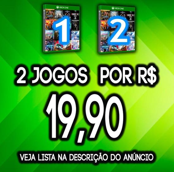 Promoção 2 Jogos Xbox One