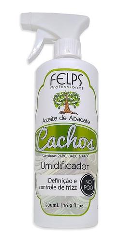 Felps Cachos Umidificador 500g - Azeite De Abacate + Brinde