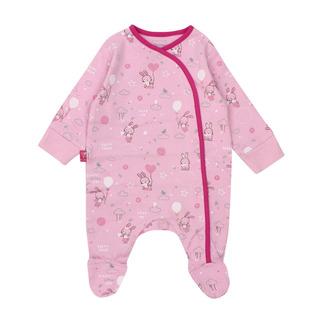 Pijama Bb Niña Enterito Algodón Sueños Rosado Ficcus