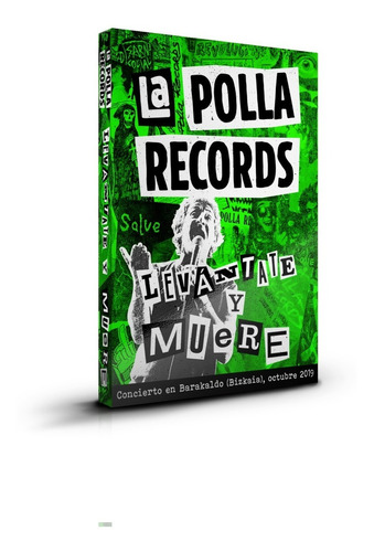 Imagen 1 de 3 de La Polla Records Levantate Y Muere   2cd+dvd