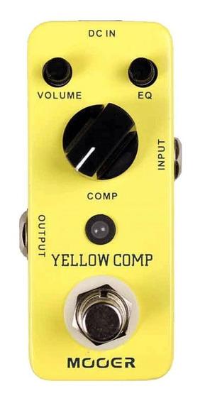 Pedal Mooer Yellow Comp - Timbre Do Diamond Comp - Envio 24h