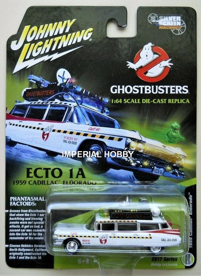 Ghosbusters 2 Cadillac Etco-1a Amb.- M Johnny Lightning 1/64
