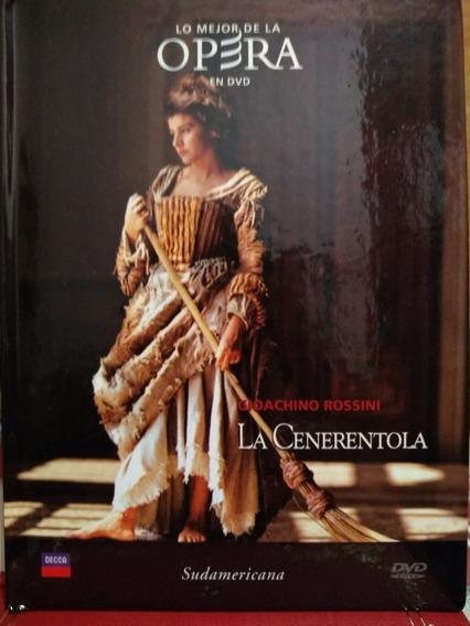 La Cenerentola Gioachino Rossini - Libro Y D V D - Nuevo