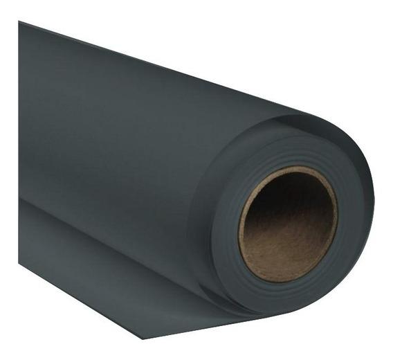Fundo De Papel Cinza Thunder Gray 1,35 X 11 M