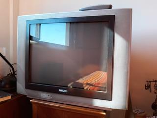 Tv Televisor Televisor Philips 21 Control Remoto Impecable