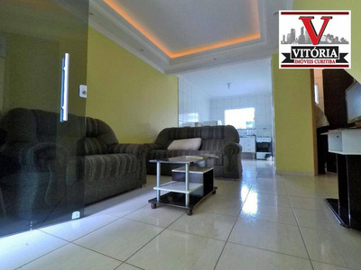 Sobrado Com 2 Dormitórios À Venda, 71 M² Por R$ 169.000 - Cidade Industrial - Curitiba/pr - So0642