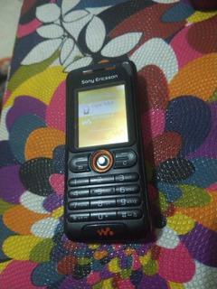 Celular Sony Ericsson Com Mp3 Modelo W200i.